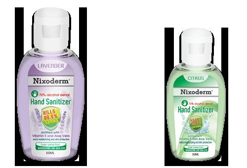 Hand Rub | Alcohol Moisturizing Sanitizer - Nixoderm Malaysia